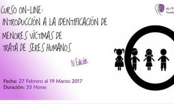 Nueva edición del Curso online de identificación de menores y víctimas de trata de seres humanos de la Fundación Amaranta