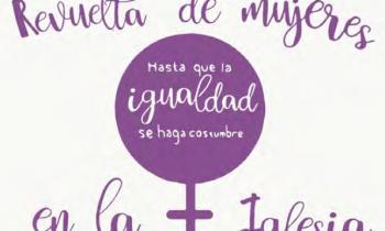Concentración por la igualdad de la mujer en la iglesia