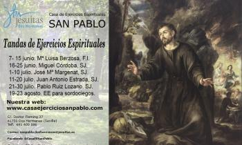 Apertura de la casa de Ejercicios Espirituales San Pablo en Dos Hermanas (Sevilla)