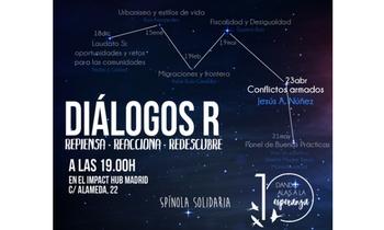 """Reflexión sobre """"Conflictos Armados y el control de los recursos naturales"""" en DiálogosR, de Spínola Solidaria, el 23 de abril"""