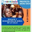 La Asociación Entretejiendo pide ayuda para rescatar a los niños de la calle de la R.D del Congo
