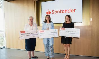Cheque Santander a CONFER