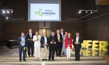 La CONFER entregó este jueves sus Premios Carisma a personas e instituciones que hacen el bien en nuestra sociedad