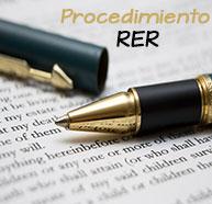 Procedimiento RER