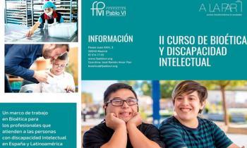Curso de Bioética y Discapacidad Intelectual de la Fundación Pablo VI