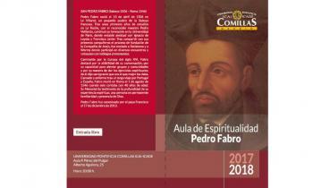 Ciclo de Conferencias Aula Pedro Fabro 2017-2018 de la Universidad Pontificia Comillas