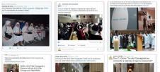 Las celebraciones de la Clausura del A�o de la Vida Consagrada en las redes sociales