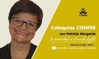 """""""Coloquios CONFER"""" con Patrizia Morgante de la UISG"""
