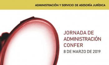 Foto díptico Jornadas Administración 2019
