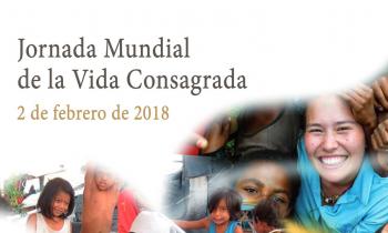 Ya están disponibles el cartel, subsidio litúrgico y los materiales para la celebración de la Jornada de la Vida Consagrada de 2018