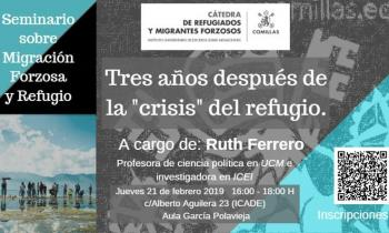 Foto Seminario Migración Forzosa