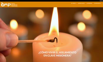 OMP lanza una web para vivir el aislamiento en clave misionera
