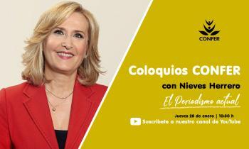 'Coloquios CONFER' con Nieves Herrero