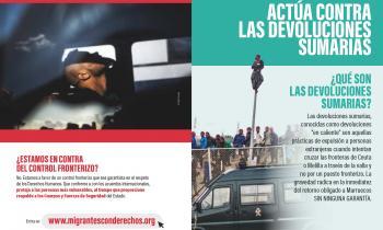 """Migrantes con Derechos dice """"NO"""" a las «devoluciones en caliente»"""
