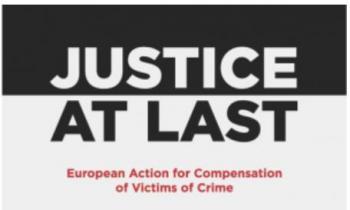 """Proyecto ESPERANZA y SICAR cat representan a España en """"Justice at last"""": proyecto europeo sobre el acceso a la indemnización para las víctimas de trata y otros delitos"""