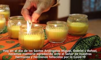 Orar por nuestros hermanos y hermanas fallecidos por la COVID