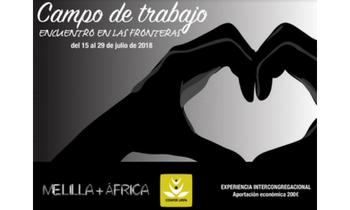 La CONFER y la URPA organizan el Campo de Trabajo intercongregacional en Melilla, del 15 al 29 de julio