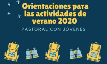 Guía para actividades de verano de la Pastoral de Juventud de España