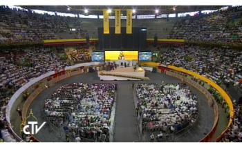 El Papa a los religiosos en Colombia: