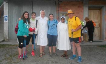 Las Hijas de Santa María de la Providencia vuelven a acoger a peregrinos del Camino de Santiago