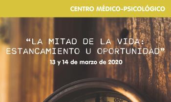 """Taller """"La Mitad de la Vida: Estancamiento u Oportunidad"""", marzo 2020"""