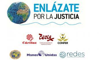 """""""Enlázate por la Justicia"""" invita a """"bucear en la propia tradición espiritual"""" para cuidar a las personas más frágiles y al planeta"""