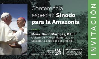 Conferencia Sinodo Dominicos