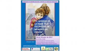 18 de octubre 2017, Día Europeo contra la Trata de Seres Humanos  | Las entidades de Iglesia denuncian la invisibilidad de las mujeres y niñas en situación de movilidad forzada