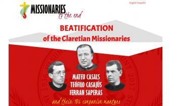 Claretianos de todo el mundo y familiares de los mártires participarán en la beatificación de los 109 mártires claretianos en la Sagrada Familia