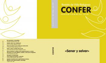 «Sanar y salvar» es el título del número 218 de la Revista CONFER recién publicado.