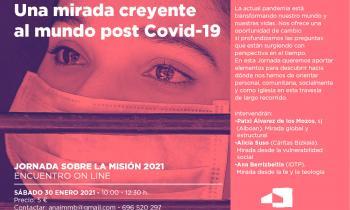 Encuentro on line: Una mirada creyente al mundo post Covid-19