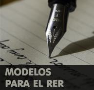 Listado de Modelos para el RER